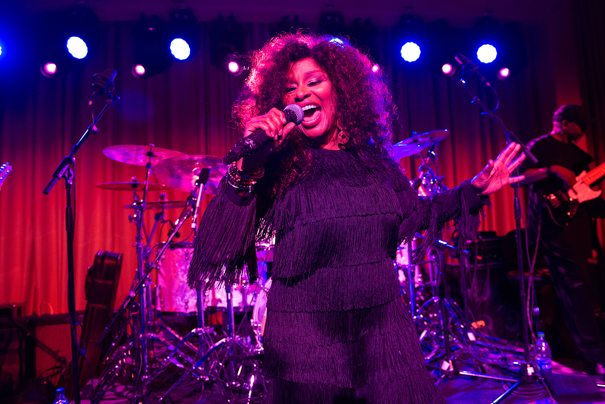 Chaka Khan performed at the 2019 Posse Gala, held at the Metropolitan Museum of Art.