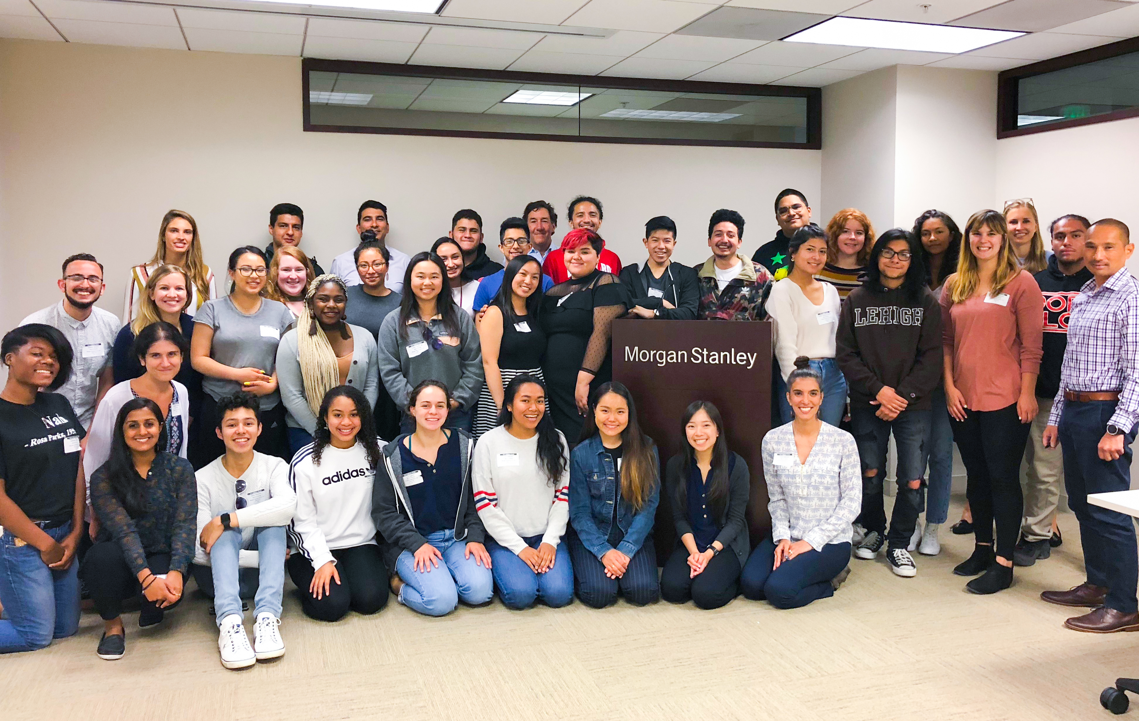 Morgan Stanley Hosts Event On How to Succeed in College | The Posse