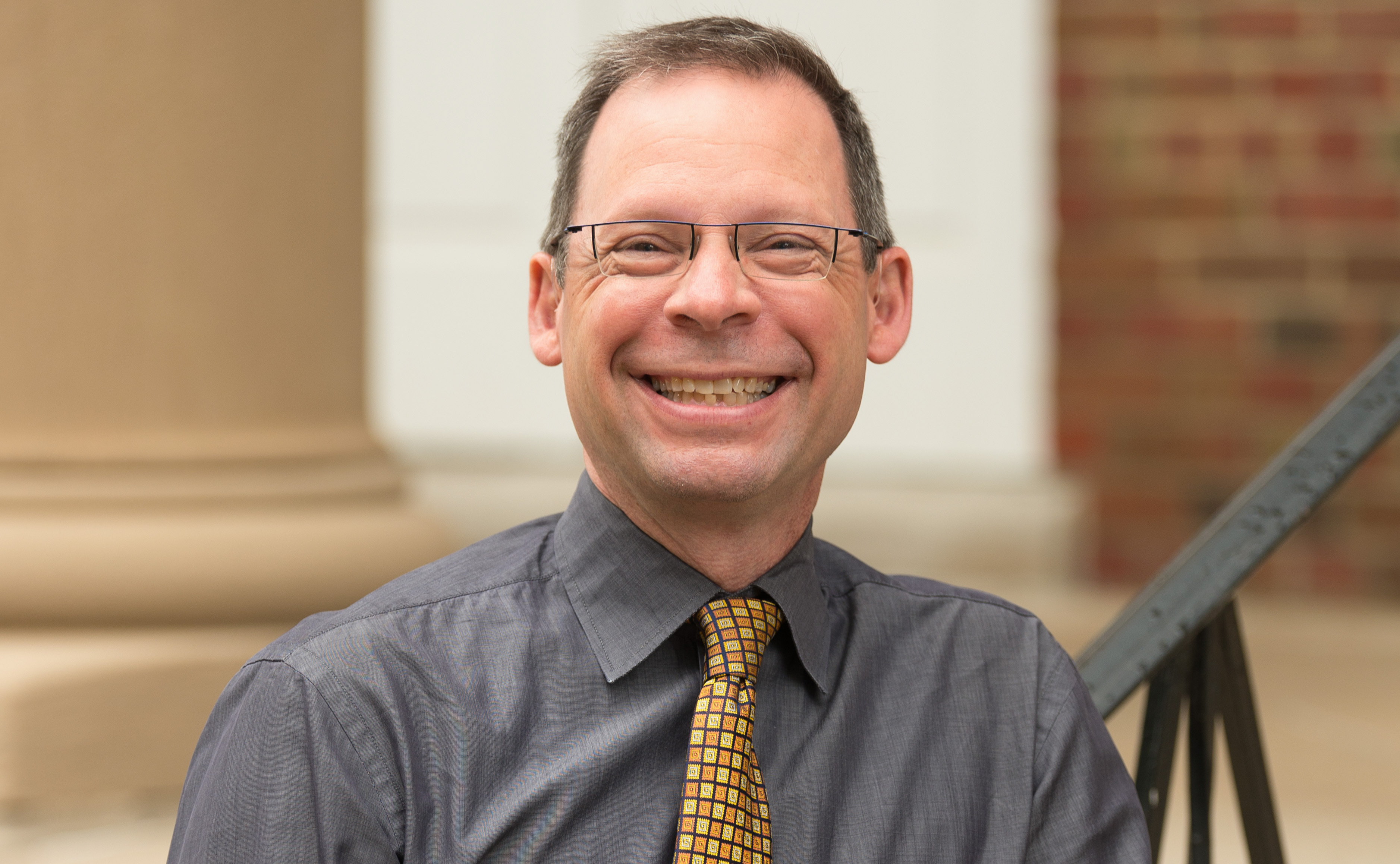 Eric Staab, Lewis & Clark College's vice president for admissions and financial aid.