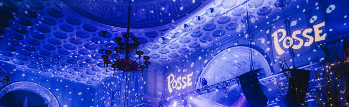 Posse Gala decorations