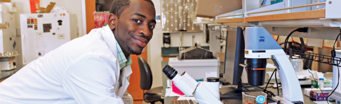 Keven Stonewall, University of Wisconsin Posse Scholar. Credit: Joan Fischer