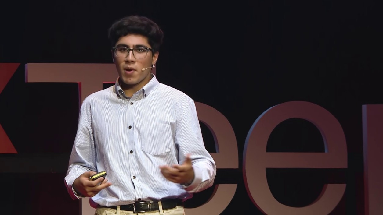 Abu Qader gives TedX talk
