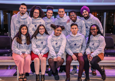 The newest Connecticut College Posse Scholars from New York at the 2020 Awards Ceremony.