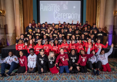 Posse Atlanta's 2020 Scholarship recipients at Awards Ceremony