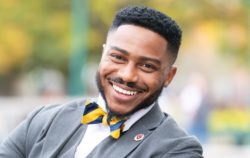 Brandon Fleming, the founder and CEO of the Harvard Debate Council Diversity Project
