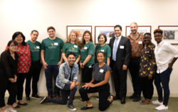 First Republic volunteers with Posse staff in Los Angeles.