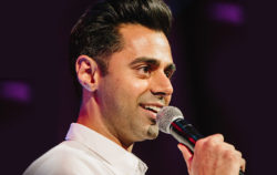 Hasan Minhaj was a featured performer at Posse's annual gala.