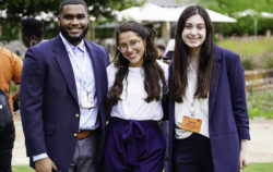 Student delegates at the PossePlus Summit.