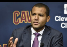 Middlebury College Posse Alumnus Koby Altman, GM of the Cleveland Cavaliers.