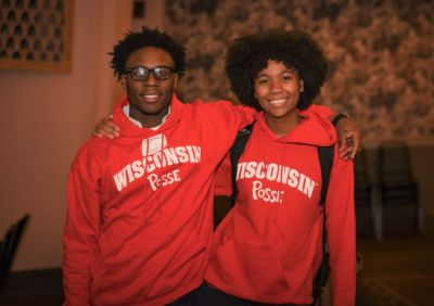 New UW-Madison Posse Scholars Ayodeji Okuleye and Rykia Amos.