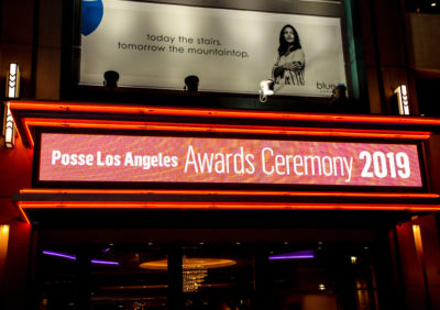 The 2019 Posse Los Angeles Awards Ceremony was held at the L.A. Live Theater..